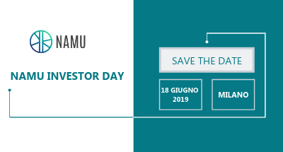 Namu Investor Day – Save the Date